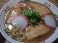 「チャーシューメン+ライス」@山為食堂の写真