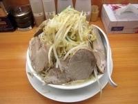 「ラーメン豚入り(野菜大盛り)」@勝流ラーメン 麺徳の写真