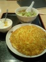 「梅欄焼きそばセット」@上海料理 梅蘭 立川中華街店の写真