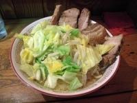 「ぶた入りラーメン 野菜マシ」@大二郎の写真