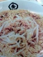 「手揉かけラーメン」@中華食堂 一番館 長野駅前の写真