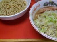 「小+つけ麺(800円)ニンニクマシ」@ラーメン二郎 相模大野店の写真