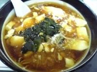 「豆腐ラーメン(500円)」@レストラン大手門の写真