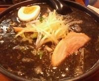 「黒味噌ラーメン750円(ぱどクーポンにて650円)」@らーめん やぶ家の写真