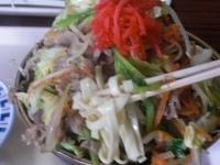 「肉そば650円」@波布食堂の写真