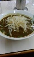 「カレーラーメン+半ライス(サービス)」@おおぎやラーメン 小鹿野店の写真