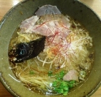 「潮薫 醤油拉麺」@麺劇場 玄瑛の写真