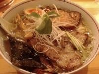 「塩ラーメン(麺かため)¥600+チャーシュー¥100」@麺や 松の写真