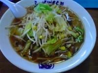 「野菜らーめん(正油)+L」@らーめんともや 前橋本店の写真