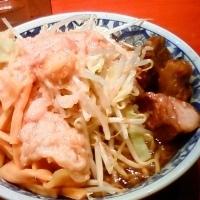 「ラーメンメンマ ニンニクアブラ (600円+100円)」@らーめん大 大森店の写真