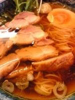 「地鶏らーめん(850円)、ミニチャーハン(ランチサービス)」@八木屋の写真