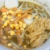 「カレーラーメン (500円)」@札幌ラーメン どさん子 大田文化の森前店の写真