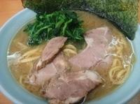 「ラーメン+ほうれん草(750円)」@極楽汁麺 らすたの写真