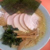 「チャーシューメン(超コッテリ・麺超カタメ) ¥750 辛味スパイ」@ラーメンショップ 尾島店の写真