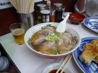 「チャーシューメン+餃子5個セット」@ファイト餃子の写真
