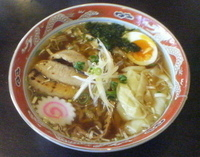 「炙り豚トロワンタン」@彩麺粋 秀太の写真