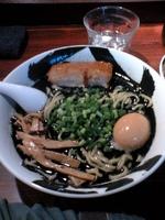 「味玉黒武骨らー麺:850円」@麺屋武蔵 武骨の写真