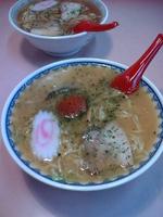 「赤湯からみそラーメン:730円」@龍上海 米沢店の写真