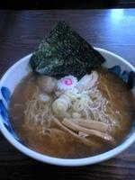 「醤油らーめん:600円」@麺屋いなせの写真