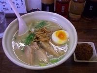 「鶏白湯・塩」@心の写真