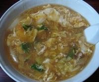 「ダーロー麺(北京風スタミナソバ)、焼餃子」@綏彩の写真