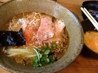 「潮薫 醤油拉麺+日本一のこだわり卵かけご飯」@麺劇場 玄瑛の写真