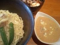 「7月限定 鯛のみその冷やがけ(配膳ミスで大盛)+ちゃしゅー飯(6」@麺屋青山 臼井店の写真