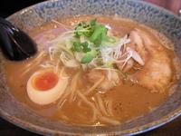 「和風とんこつ(+替え玉)」@綿麺の写真