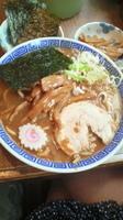 「味玉そば 海苔」@中華蕎麦 とみ田の写真