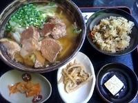 「アグーの肉そばセット ¥1,575」@大家の写真