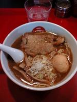 「玉豚天らー麺:910円」@麺屋武蔵 二天の写真