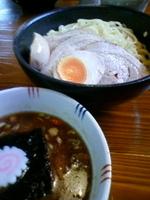 「味玉チャーシューつけ麺大盛り+自家製なめらかプリン」@麺屋 渡来人(Try-Jin)の写真