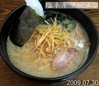 「塩ネギラーメン」@麺屋てつの写真
