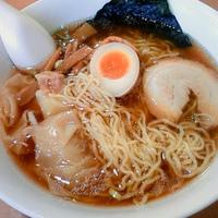 「ワンタン麺 (780円)」@日進亭の写真