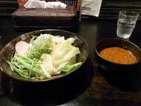 「廣島つけ麺(冷) 並」@廣島つけ麺本舗 ばくだん屋 福山店の写真