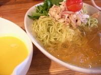 「冷たいらーめん2009ジェノベーゼ」@麺家 五大力 東豊中本店の写真