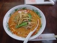 「肉絲担々麺」@聚香園 曙町店の写真