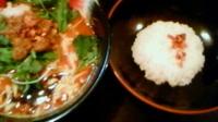 「いっこくエスニックご飯つき¥850パクチー抜き」@麺屋 いっこくの写真