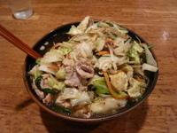 「肉野菜ラーメン」@中華シゲタ マルエツ六ッ川店サニーロード内の写真