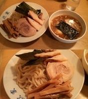 「スペシャルしょうゆつけうどん」@手打ちつけ麺 欣家の写真
