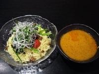 「冷し担々つけ麺(大盛り)」@創作中華 花/華の写真