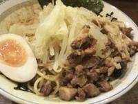 「カリーダブルインパクト(麺硬め・鶏脂・ニンニク)830円」@醤道 総本店の写真
