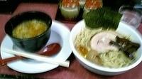 「つなみ特製つけ麺中盛」@自家製太打麺 せい拉の写真
