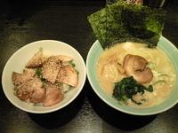 「醤油ラーメン+チャーシュー丼=1000円」@松壱家 藤沢南口店の写真