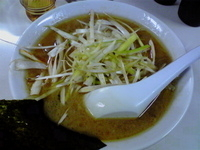 「ネギ塩ラーメン+麺大盛り」@ラーメン 日本一の写真