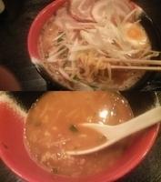 「特製濃いコク味噌らーめん+〆飯」@麺屋 いっこくの写真