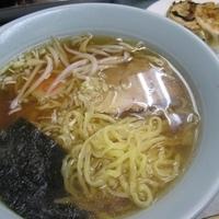 「ラーメン餃子セット 600円」@ガッツリ飯店 天極家の写真