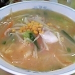 「白味噌タンメン」@あずま食堂の写真