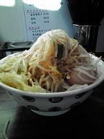 「雷そば大(280g) 味玉入り ¥800」@雷 本店の写真