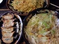 「ちゃんぽん¥600+餃子¥300+炒飯¥600」@麺屋 千寿の写真
